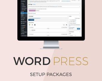 WordPress Installation Package, WordPress help, Set Up WordPress, WordPress Support