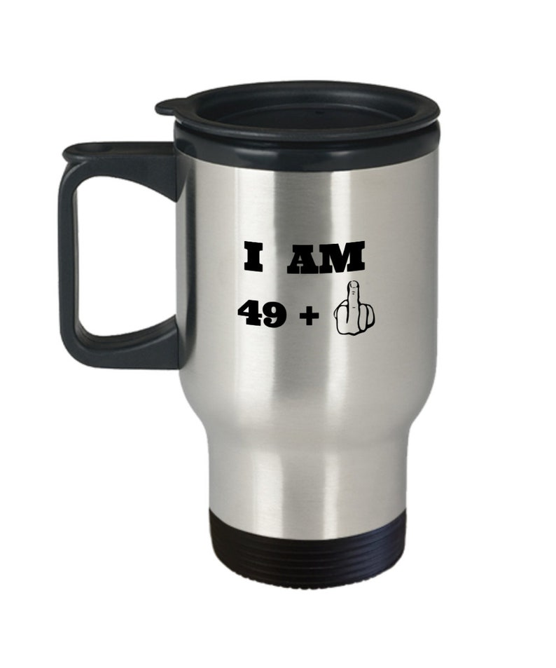 Middle Finger Travel Mug 50th Birthday Gifts For Men And