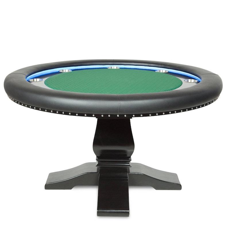 Phenomenal The Ginza Led Poker Table Beutiful Home Inspiration Xortanetmahrainfo