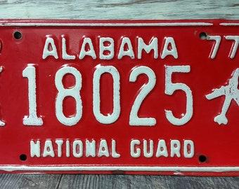 Alabama Car Tags >> Alabama Car Tag Etsy