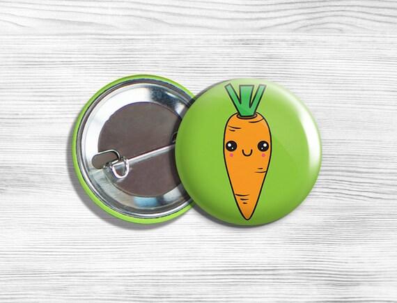 VEGETARIAN VEGAN VEGGIES 7 NEW PINS Pinbacks Buttons ST***