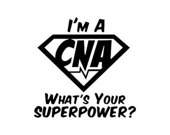 im a cna whats your superpower plastic cup custom and personalized