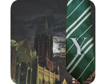 Wizarding School House Ties available with or without embroidery- Harry Potter style cosplay