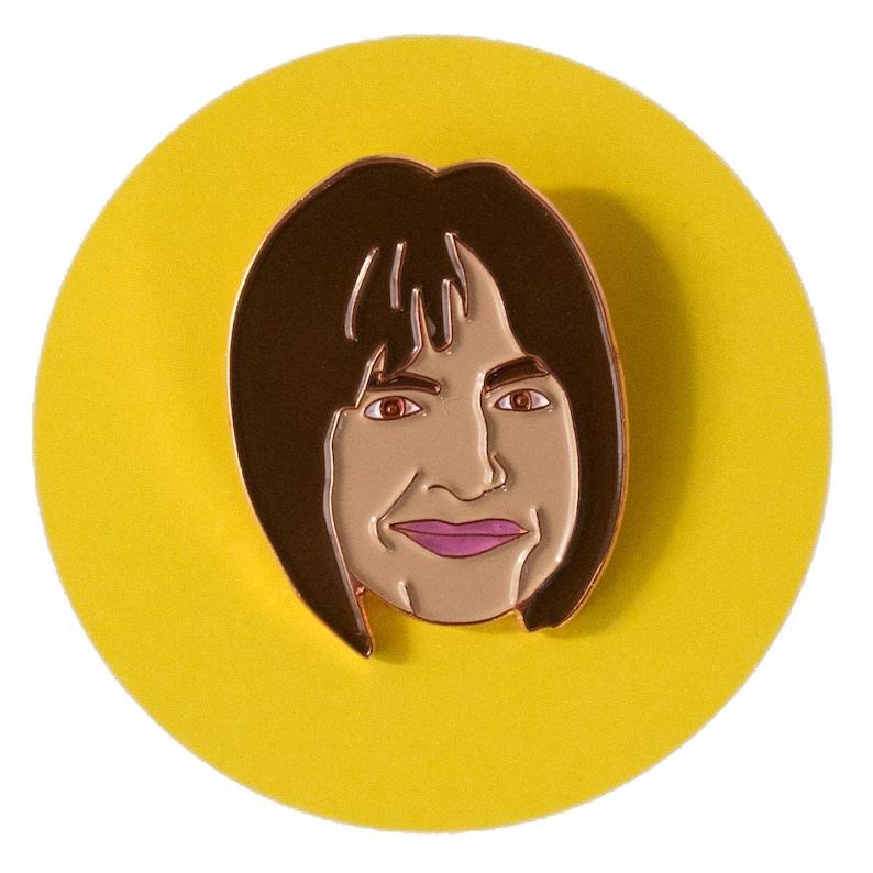 Patti LuPone enamel lapel pin image 0