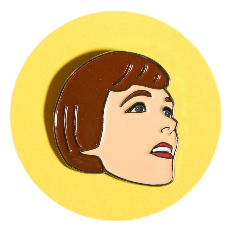 Julie Andrews enamel lapel pin The Sound of Music image 0