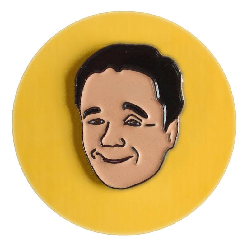 Nathan Lane enamel lapel pin image 0