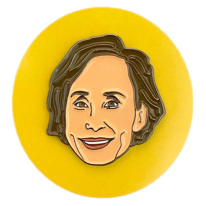 Laurie Metcalf Enamel Pin image 0