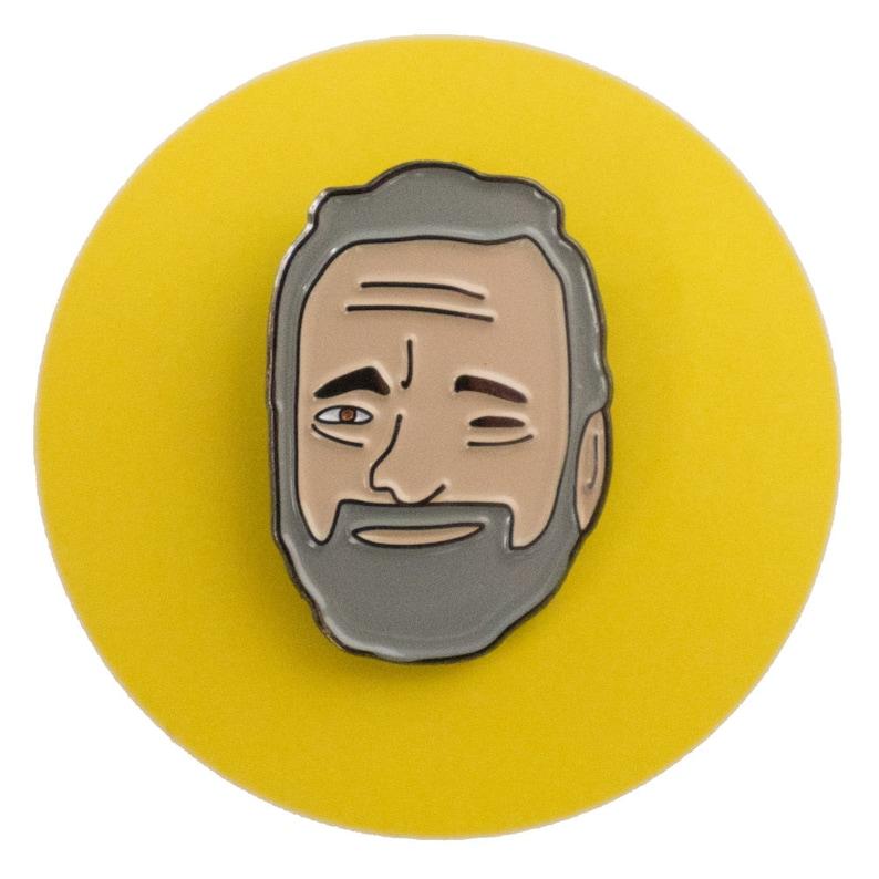 Stephen Sondheim enamel lapel pin image 0