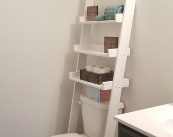Over The Toilet Ladder Etsy