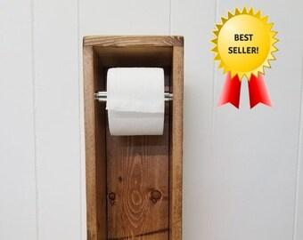 Frei Stehend Toilettenpapierhalter / Kleine Badezimmer Lagerung / WC Papier  Halter Ständer / WC Papier Lagerung