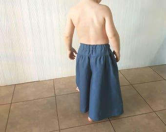 Boho Baby Clothes, Linen Pants, Boys Pants, Toddler Boy, Toddler Boy Pants, Fisherman Pants, Festival Clothing, Baggy Pants, Baby Hippie