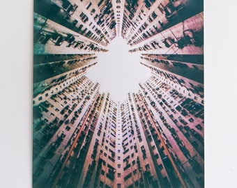 Trapped 1.0 | Screen Print | Silk Screen | Digital Photograph Hand Printed