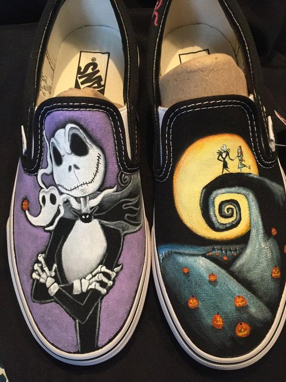 42f65d784f Nightmare Before Christmas Custom shoes Vans