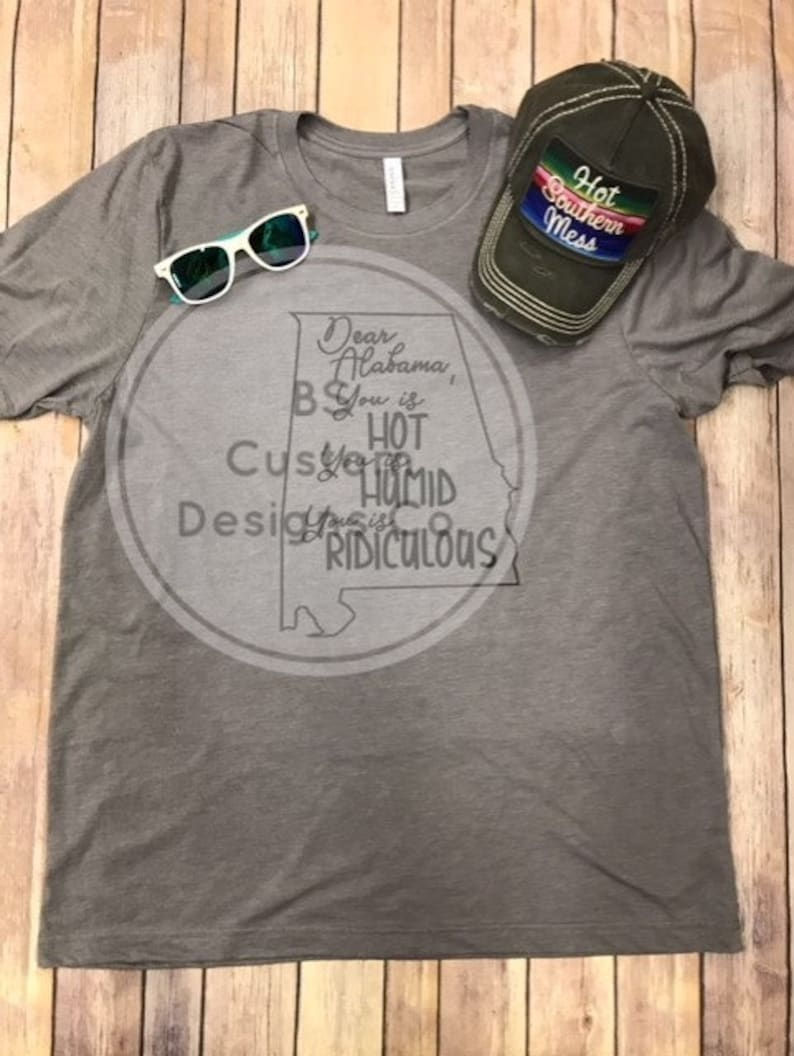 41c6bdcb Dear Al You is HOT You is HUMID You is RIDICULOUS Funny | Etsy