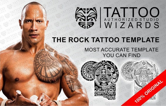 ähnliche Artikel Wie The Rock Dwayne Johnson Maori Polynesian Tattoo