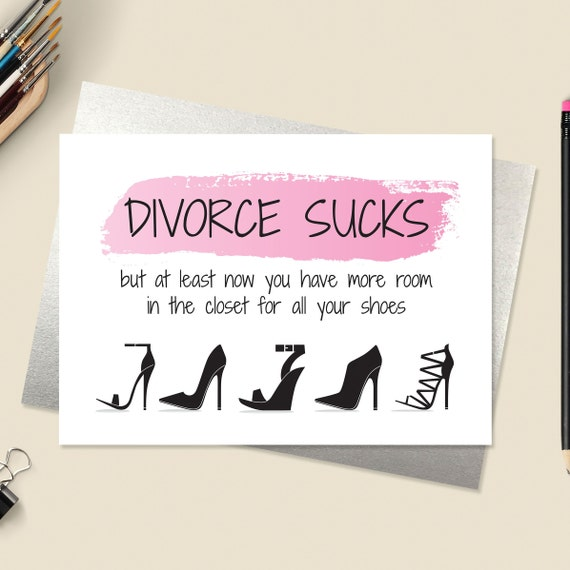 Divorce Card Break Up Card Relationship Card Paper Goods Greeting Cards