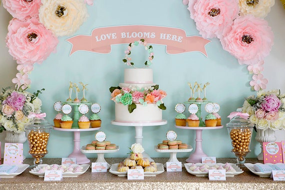 Incredible Custom Cake Table Decorations For Wedding Birthday Parties Etsy Funny Birthday Cards Online Overcheapnameinfo