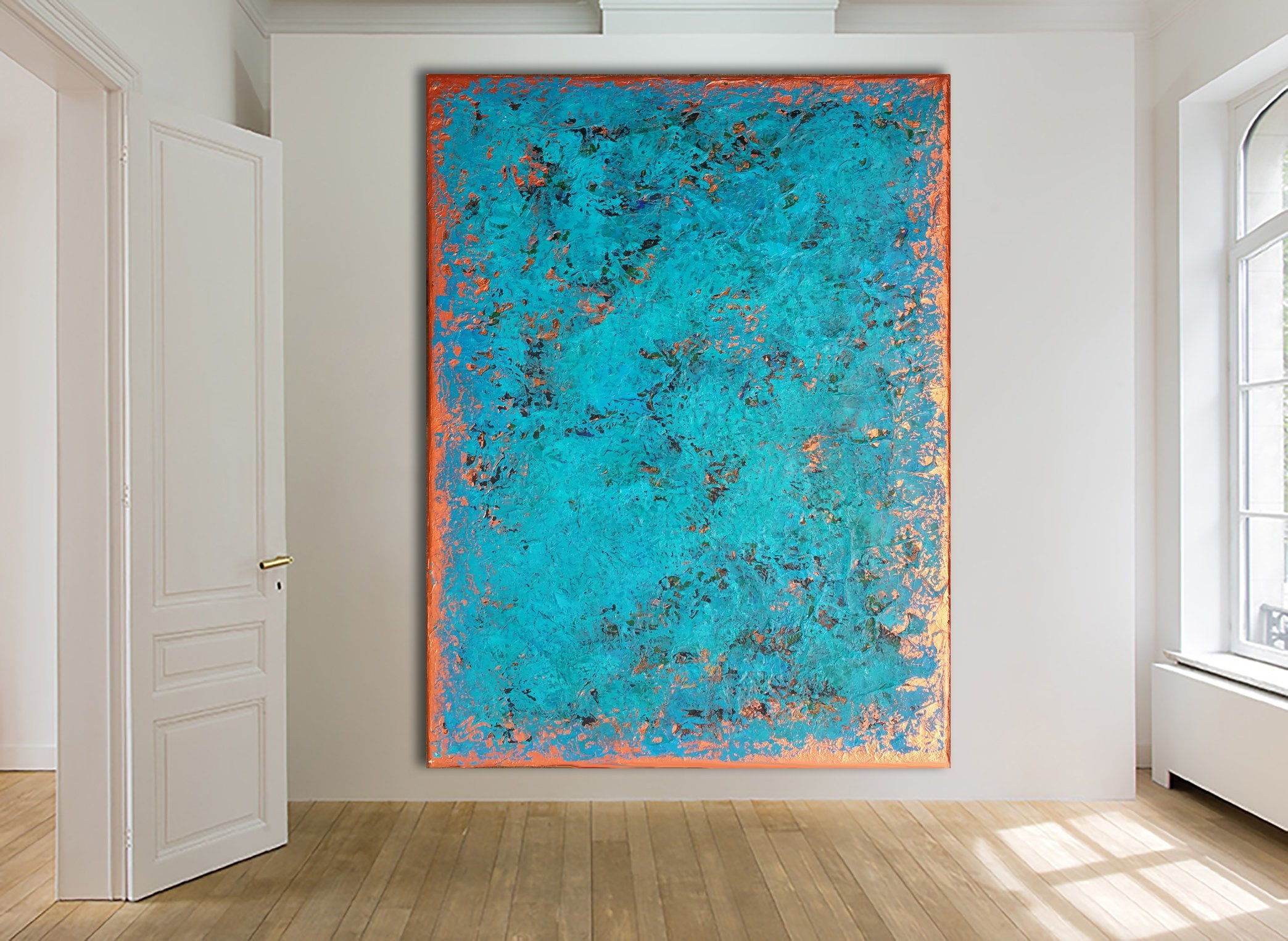 Original Abstract Painting Custom Painting Large Canvas Art