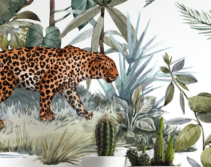 Jungle Leopard Wallpaper