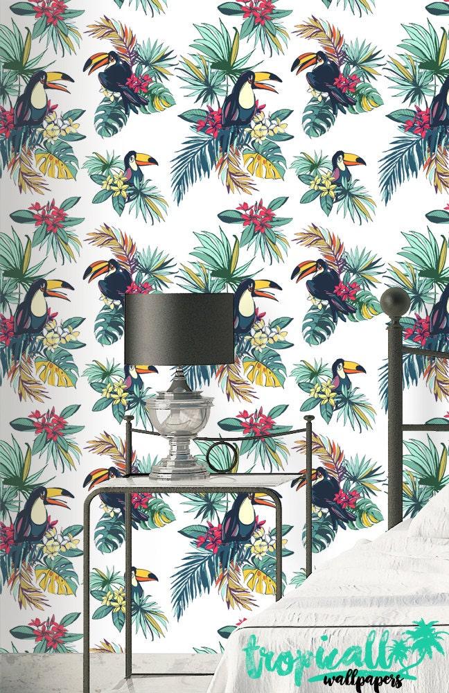 Toucan Wallpaper Removable Wallpapers Toucan Birds