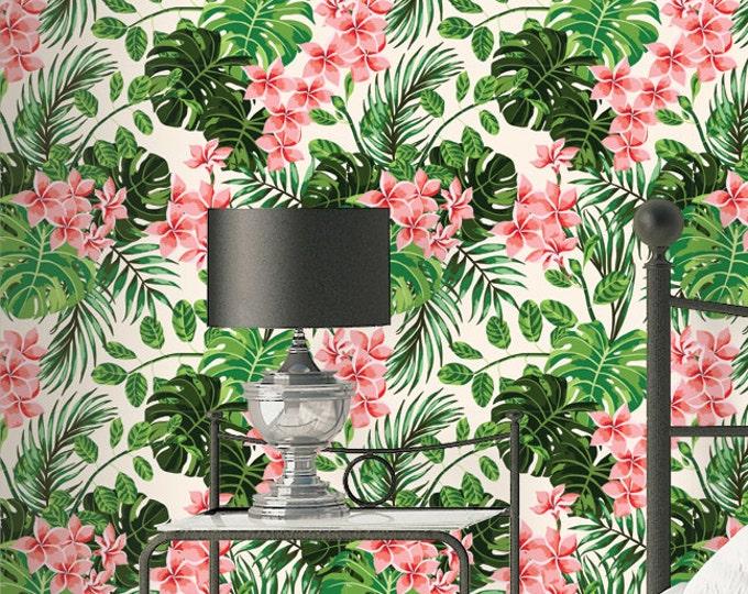 Monstera Palm Wallpaper