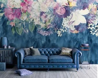 Dreamy Floral Mural