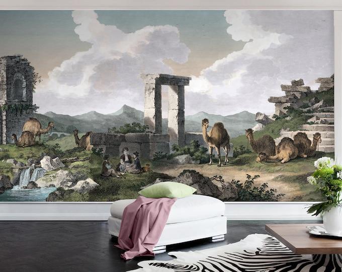 Panoramic Greek Wall Mural (Extra Large!)