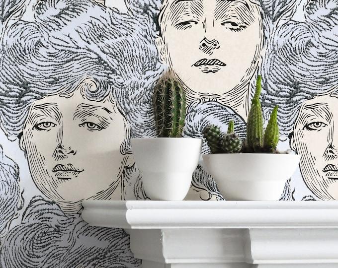 Gibson Girls Wallpaper