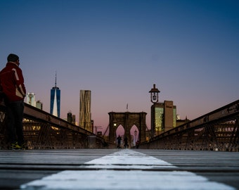 Brooklyn Bridge Sunrise 2