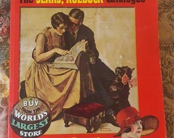 """Vintage """"1927 Edition of The Sears, Roebuck Catalogue"""""""