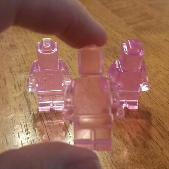 Huit Lego Minifigures enfants savon, savon à la glycérine pour enfant fait à la main, Lego savon bloc de construction hommes ensemble Lego homme savon, savon des faveurs, des couleurs personnalisées