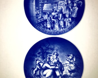 Two limited edition Bareuther plates Germany made