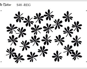 Ecran en soie Cells Silk Screen kato THERAINBOW Silkscreen for polymer clay fimo S53 Silkscreens,Polymer Clay Tools