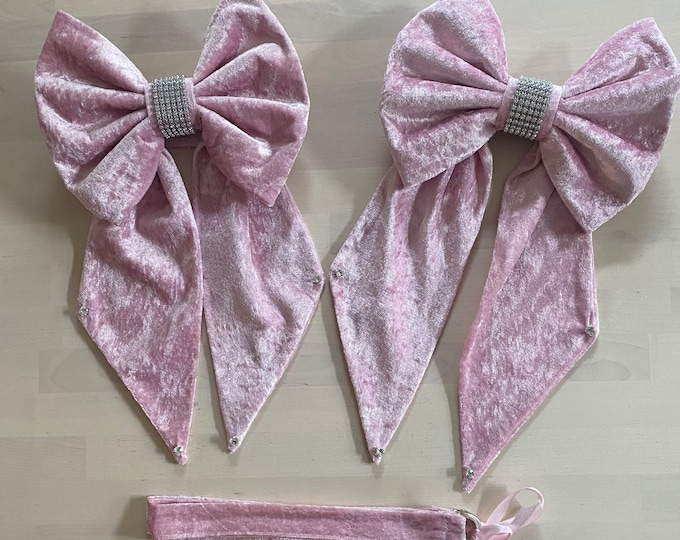 Bow Curtain Tie Back Set