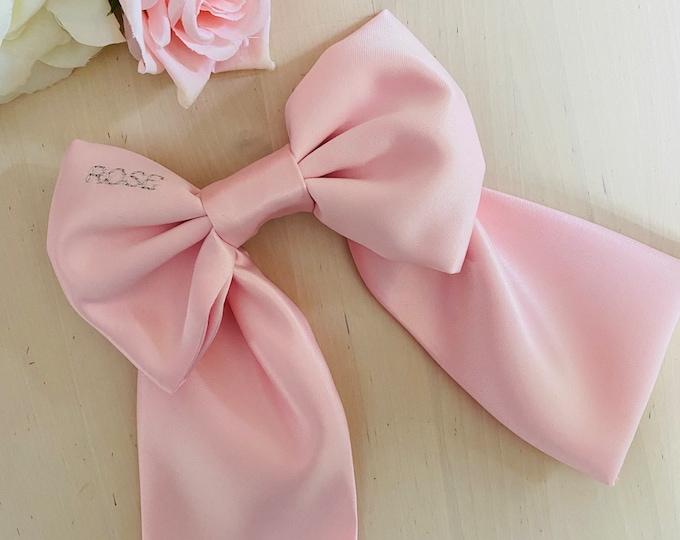Personalised hair bow