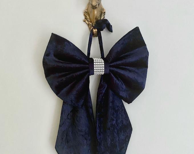 Velvet Christmas Bow