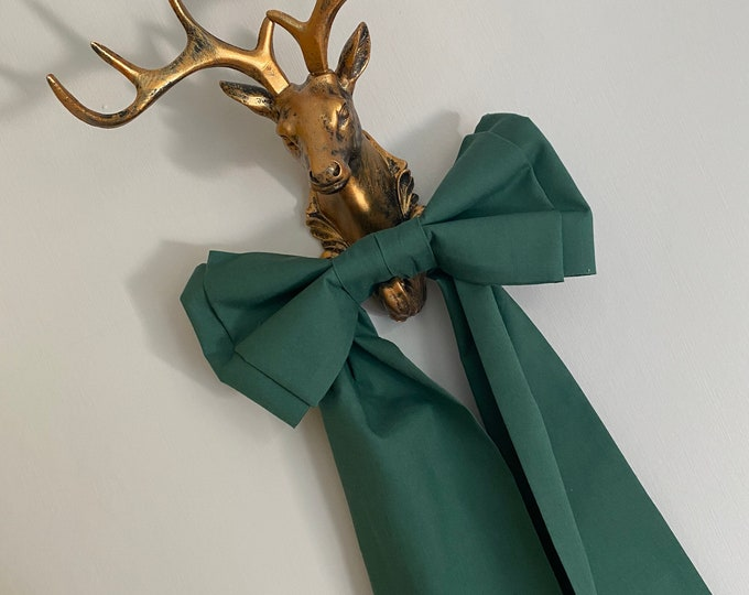 Green Picture Bow