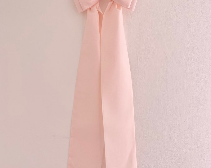 Picture Bow Pink or Grey