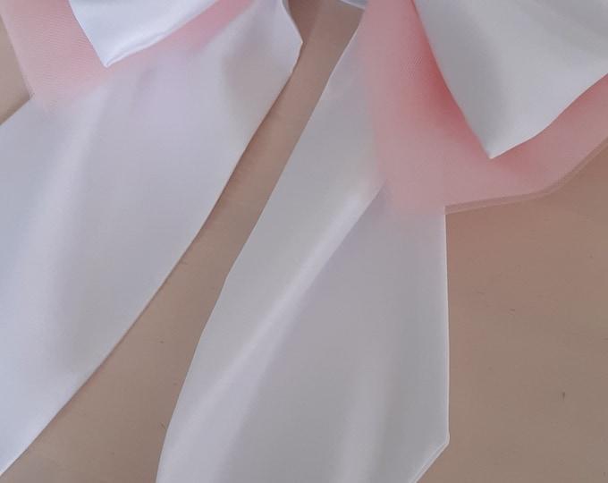 Beautiful TuTu Bow Curtain Tie Back Set