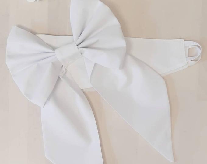 Cotton Bow Curtain Tie Backs