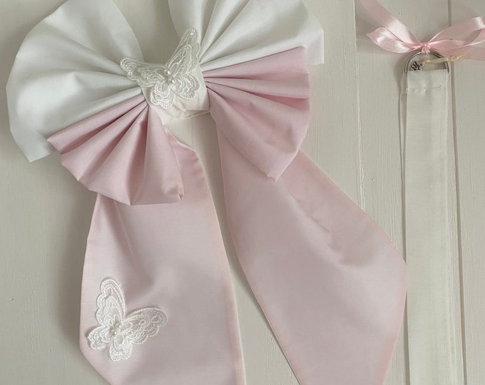 Butterfly Curtain TieBack Set