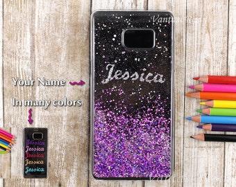 5671e915548f Cas de paillettes violet Iphone 7, 7 + coque, coque iphone 6, 6 + coque,  étui pour iPhone 6 s +, iphone 5 5 s se couvrent