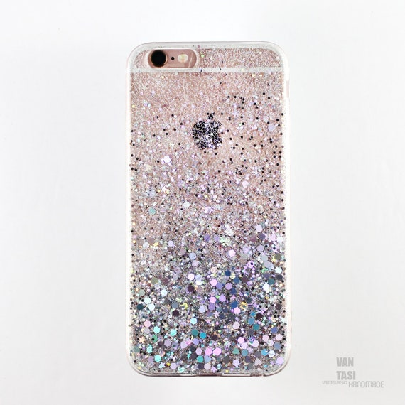 Silver Holographic Glitter Iphone 5