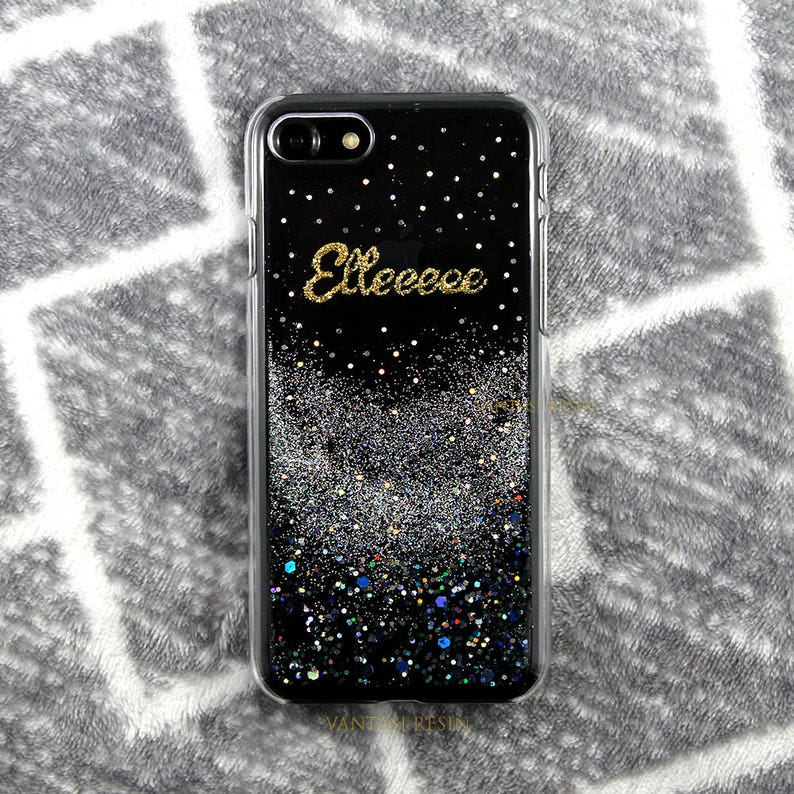 separation shoes 40857 021dc silver glitter bling sparkle iPhone 7 case iPhone 7 plus case iPhone 6 case  iPhone 6s case iPhone 5S case iPhone SE case iphone X 8 cover