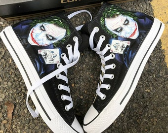 945040f5e428d7 Custom Painted Joker Converse