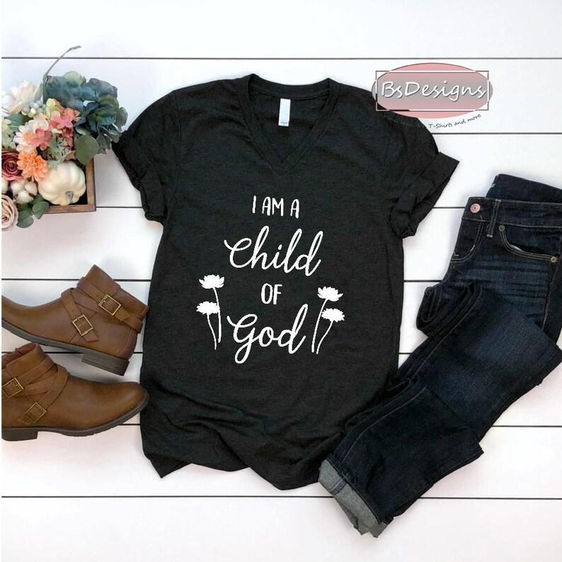 e6513c49 I am a Child of God Women's unisex Shirt no longer a   Etsy