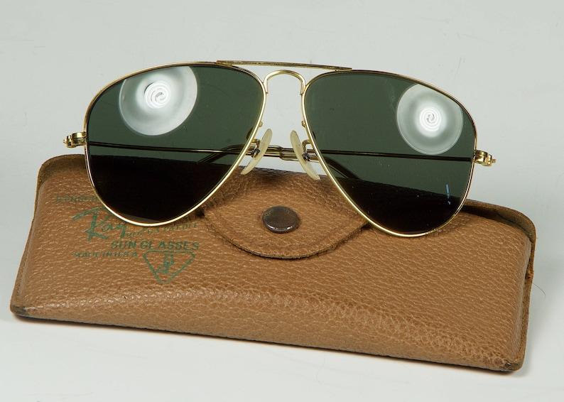 c01c72ec34 Vintage Ray-Ban Bausch   Lomb Aviators WW2 52mm smallest near