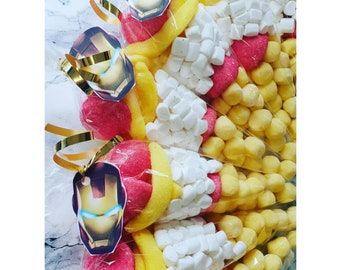 6 x Personalised Children/'s Avengers Party Crisp For All occasions and Events.
