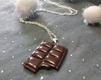 Necklace chocolate for the hungry!