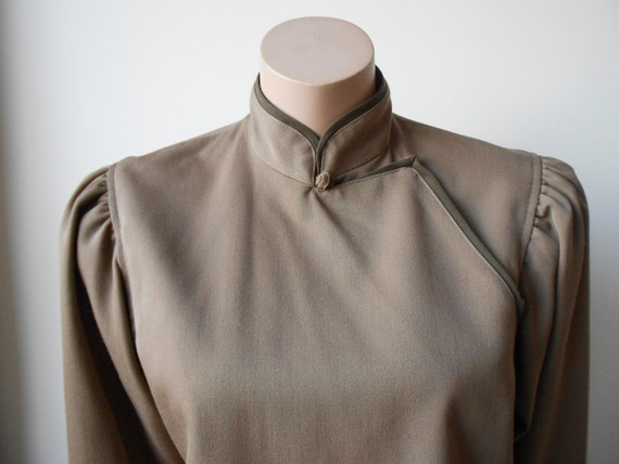 Vintage Kenzo : short female camel wool jacket, s… - image 3